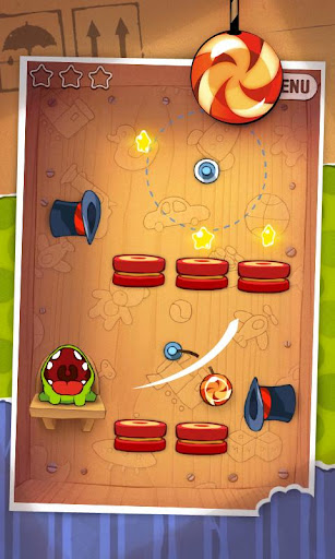 Cut the Rope Android App Gameplay