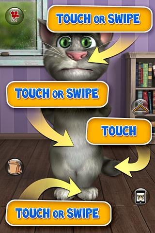Talking Tom Cat 2 Free android app touch
