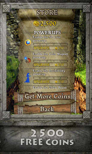 Temple Run Brave android app coins
