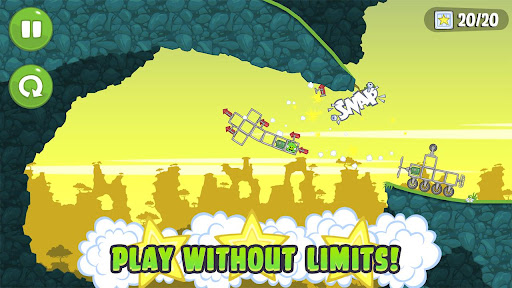 Bad Piggies android app gameplay