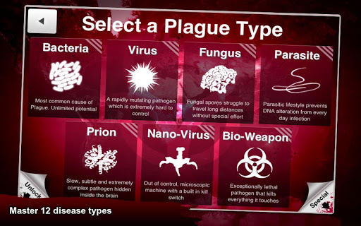 Plague Inc android app game type
