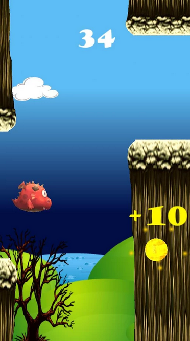 My Fat Flying Dragon android app gameplay