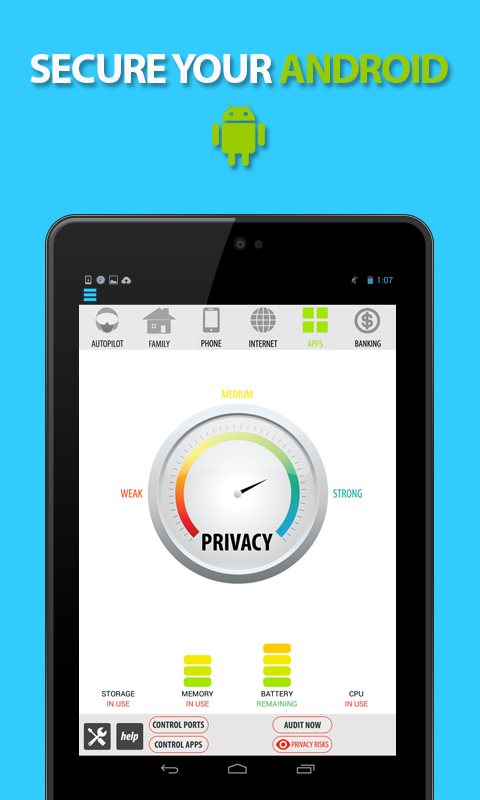 Antivirus Privacy Firewall android app review