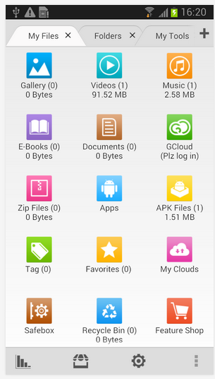 File Expert with Clouds android app review